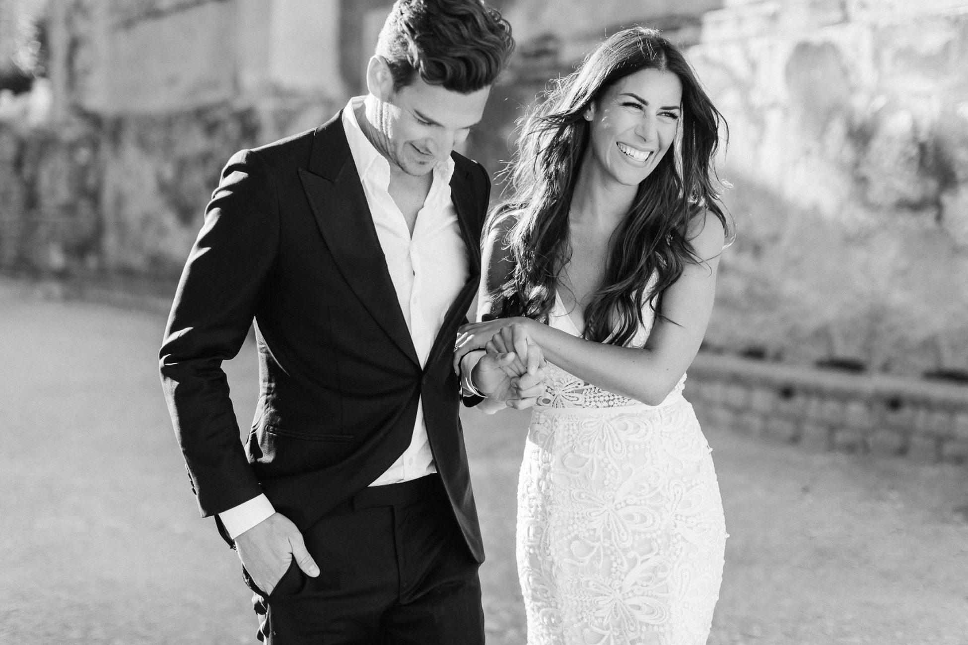 Hochzeitsfotos mit Brautpaar in Dubrovnik Kroatien